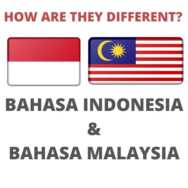 MALAY AND INDONESIAN LANGUAGE