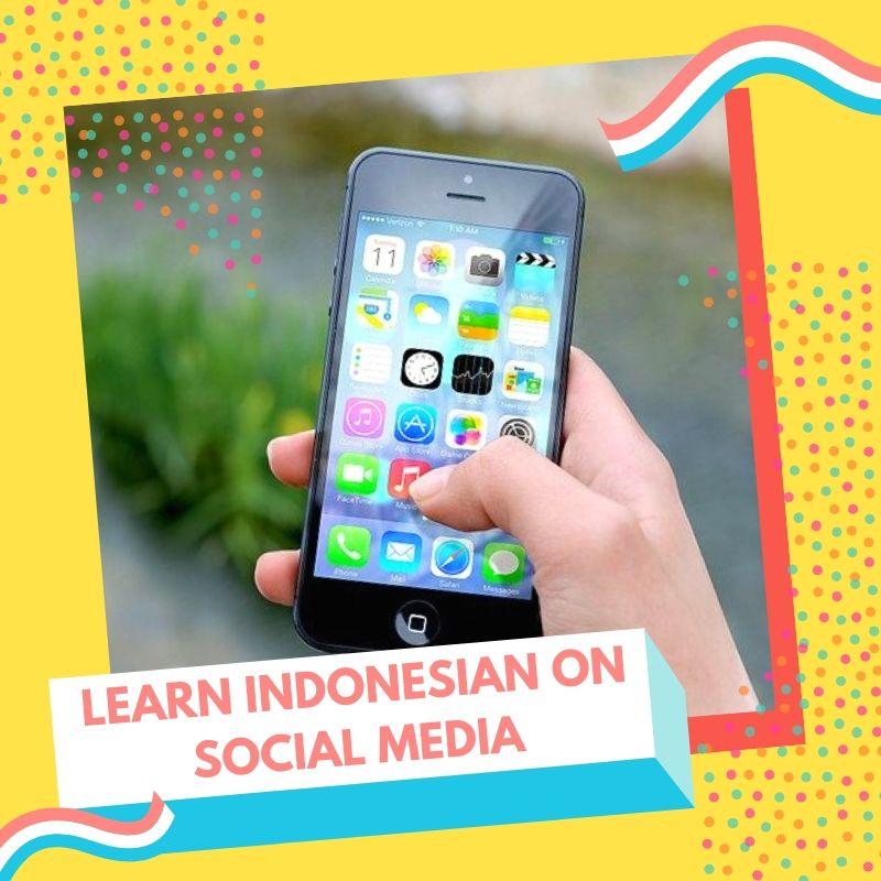 Learn Indonesian on Instagram Facebook Pinterest Youtube