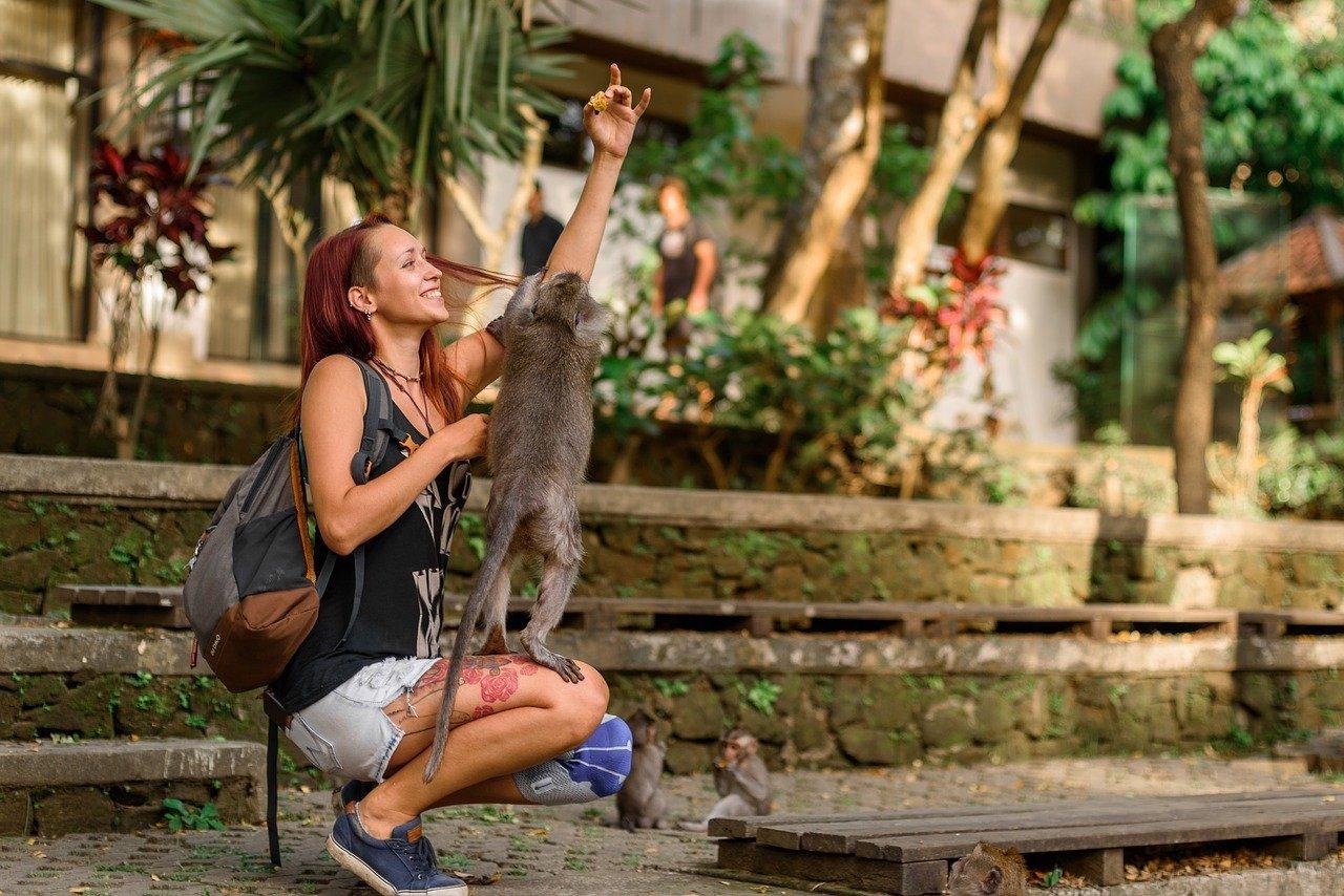 Bali tourist