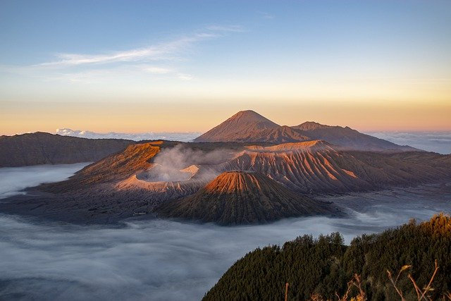 Mount Bromo Java Indonesia
